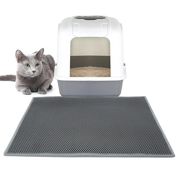 Double Layer Waterproof Pet Cat Litter Mat