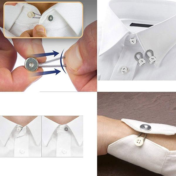 Collar Pant Extender Buttons (6 Pcs)