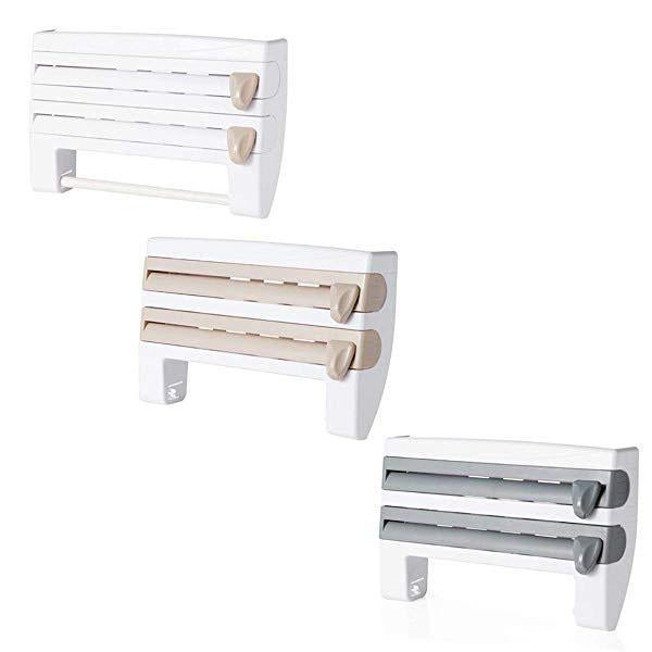Punch-free Cling Film Storage Shelf