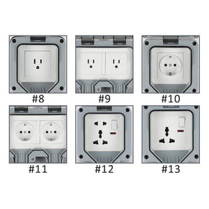 Outdoor Waterproof Receptacle Outlet