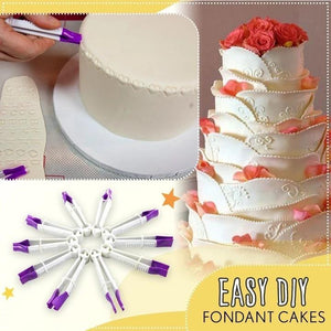 Fondant Crimpers Tool Set