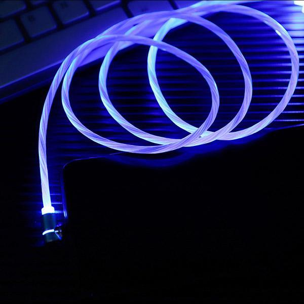 Luminous Streamer Magnetic Elbow Data Cable
