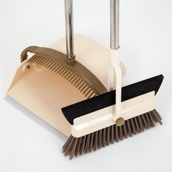 Windproof And Dustpan Two In One Wiper Broom