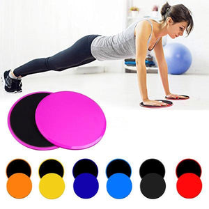 Multifunctional Sliding Fitness Disk (1 Set)