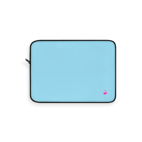 Image of Solid Neon Blue Laptop Sleeve-Laptop Sleeve-pnkswn