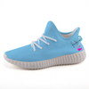 Solid Neon Blue Lightweight Sneakers-Shoes-pnkswn