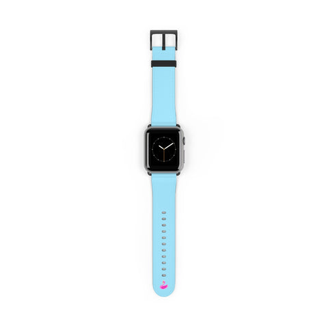 Solid Neon Blue iWatch Band-Accessories-pnkswn