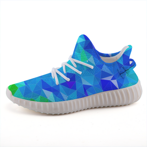 Prism Blue Lightweight Sneakers-Shoes-pnkswn