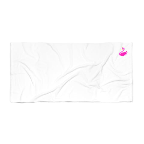 White Beach Towel-Home Decor-pnkswn