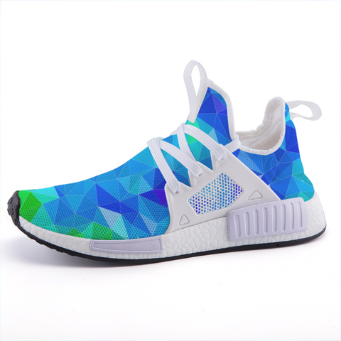 Prism Blue Lightweight Sports Shoes-Shoes-pnkswn
