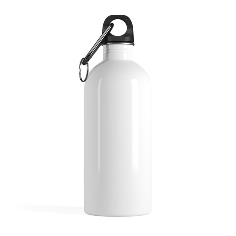 White Stainless Steel Water Bottle-Mug-pnkswn