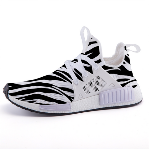 Zebra Print Lightweight Sports Shoes-Shoes-pnkswn