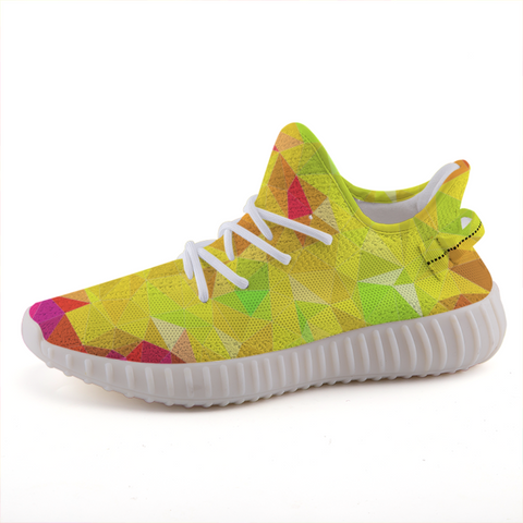 Prism Yellow Lightweight Sneakers-Shoes-pnkswn