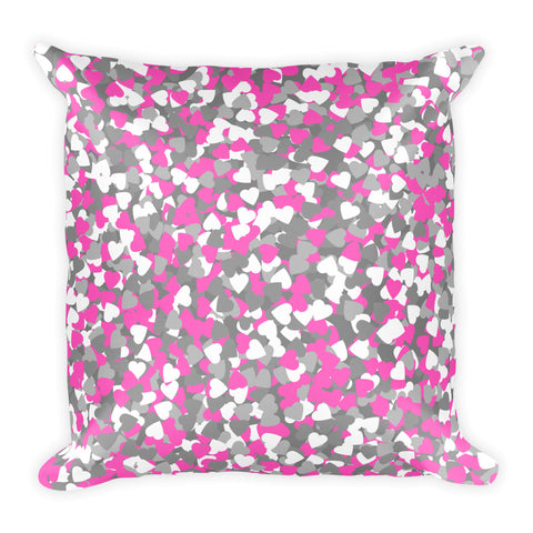 Image of Camo Pink Basic Pillow-pnkswn
