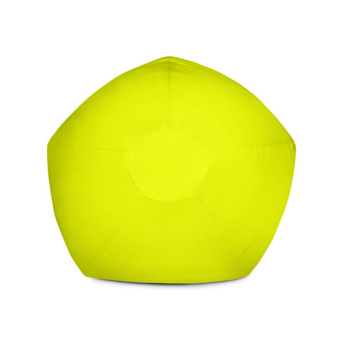 Solid Neon Yellow Bean Bag Chair w/ filling-pnkswn