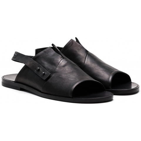 the last conspiracy ALDEN clean Sandal 001 Black