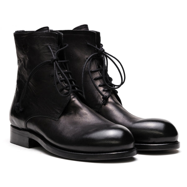 the last conspiracy ALEC re waxed Laced Boot 001 Black