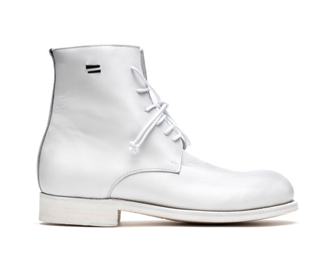 the last conspiracy ALEC re waxed Laced Boot 036 White