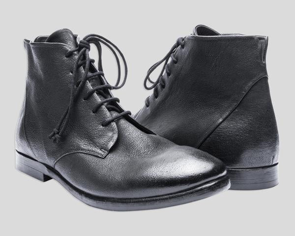 the last conspiracy ASK Laced Boot 001 Black