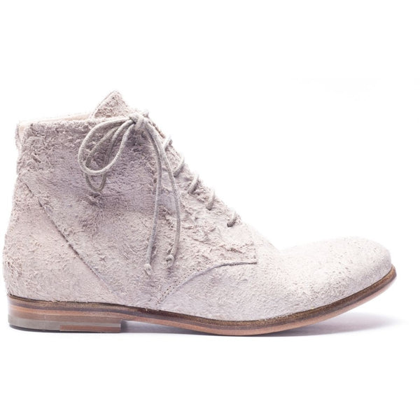 the last conspiracy ASK long haired suede Laced Boot 050 Bone