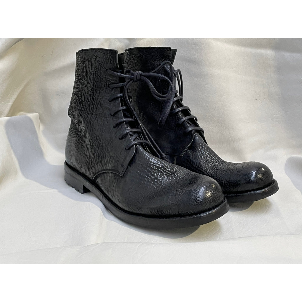 Asgaard ASLAK reversed Laced Boot 001 Black