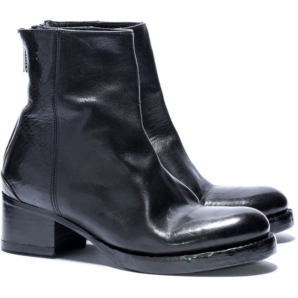 the last conspiracy ASLAUG re waxed Heel Boot 001 Black