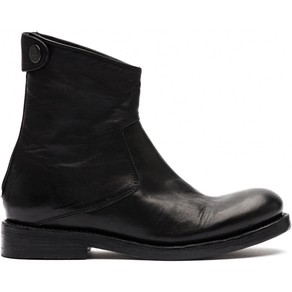 the last conspiracy AUDLEY clean Zip Boot 001 Black