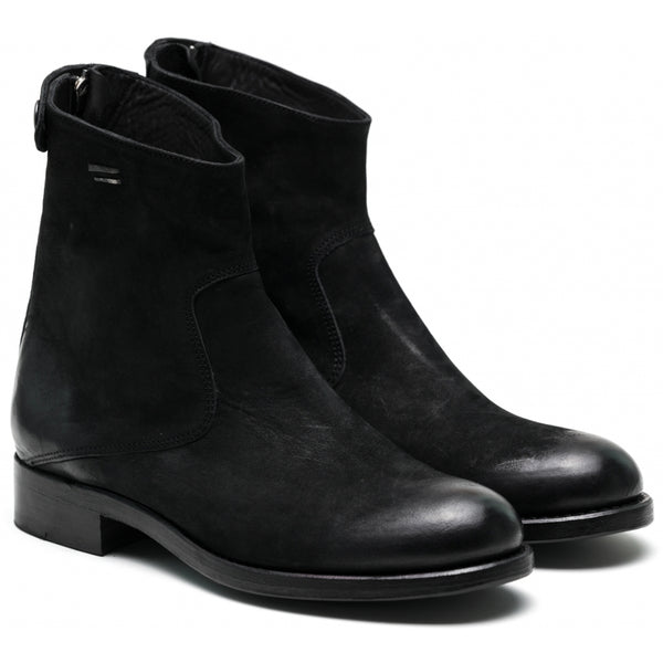 the last conspiracy AUDLEY mat Zip Boot 001 Black