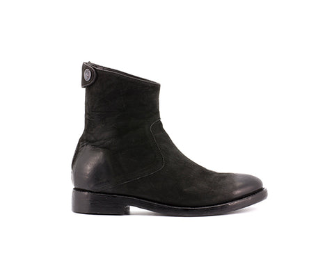 the last conspiracy AUDLEY mat teddy Zip Boot 001 Black