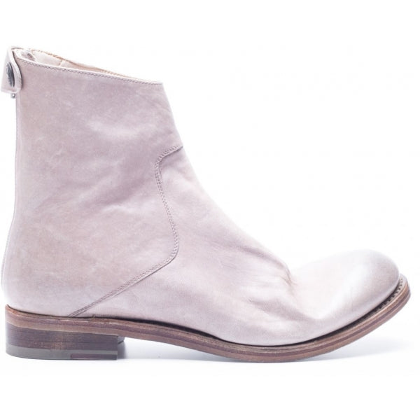 the last conspiracy AUDLEY soft Zip Boot 050 Bone