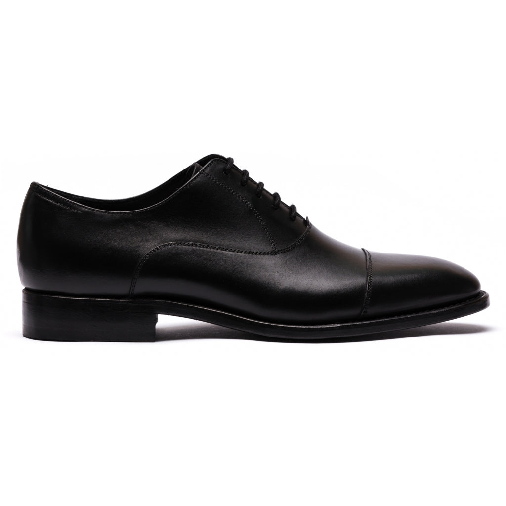 TLC Business BELFORT oxford toe cap leather Business 001 Black
