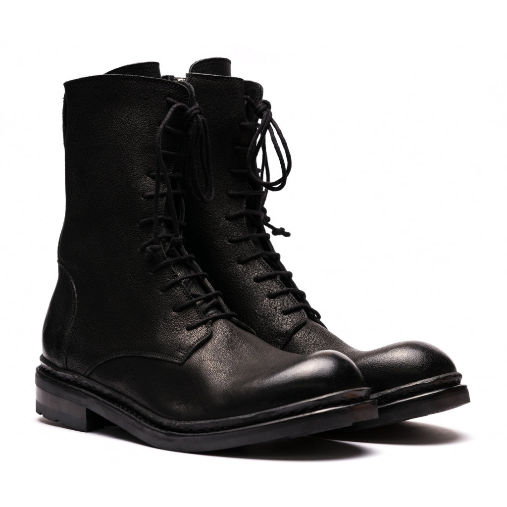 the last conspiracy BIRGER american Laced Boot 001 Black