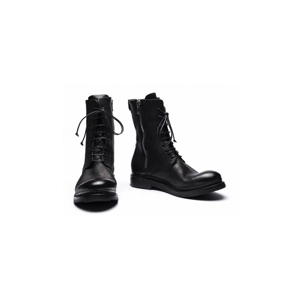 the last conspiracy BIRGER re waxed last Laced Boot 001 Black