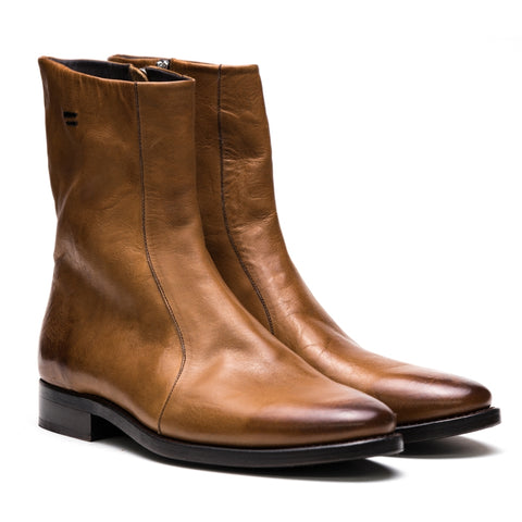 the last conspiracy BLAIR re waxed Zip Boot 077 Mustard