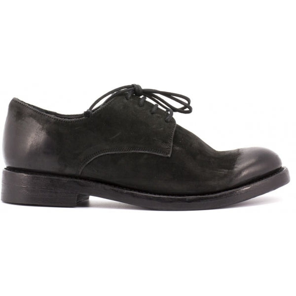 the last conspiracy BLAKE mat Laced Shoe 001 Black