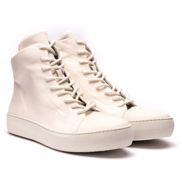Hannes Roether x the last conspiracy BOUNCE High Top Sneaker 013 Beige