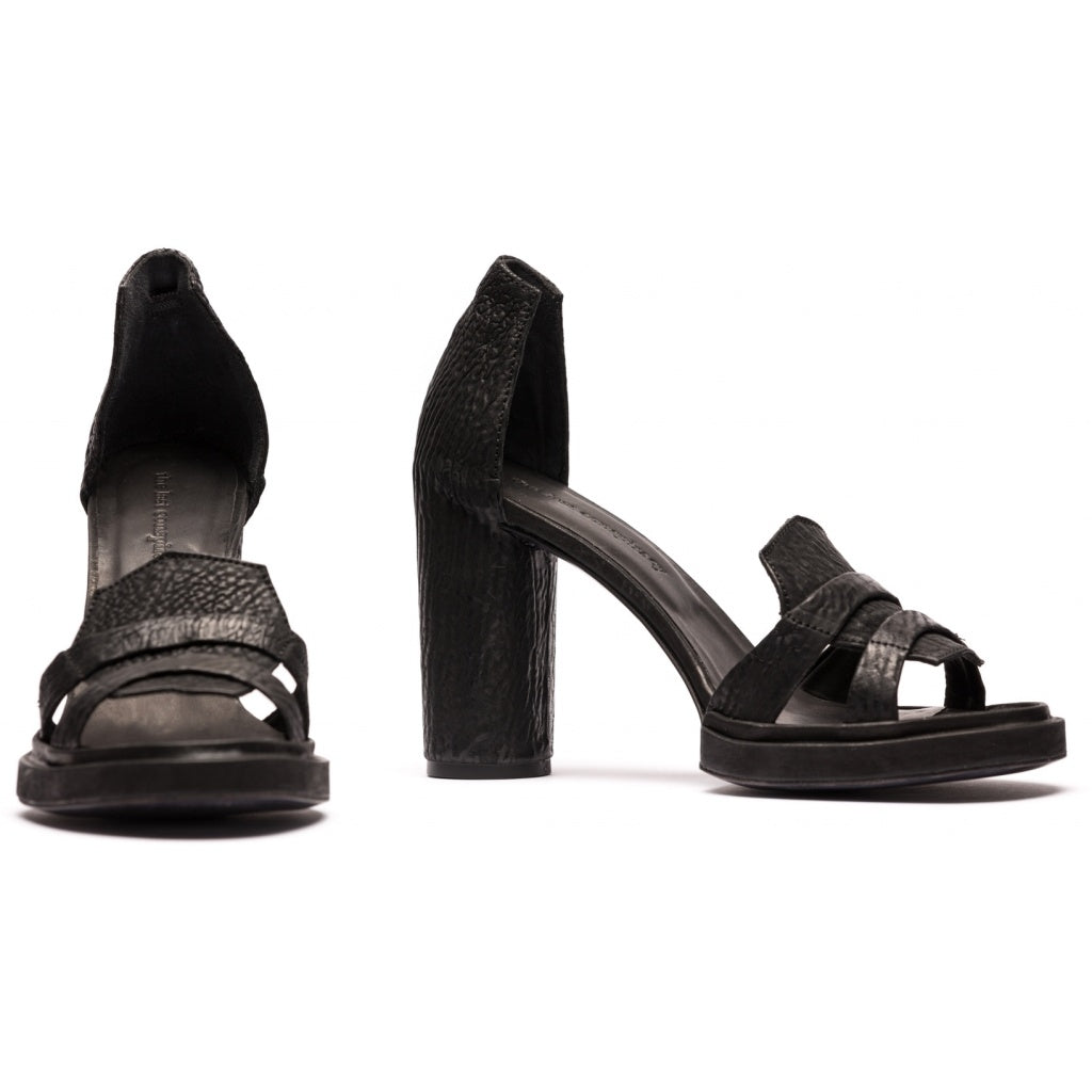 the last conspiracy CHANTAY reversed Sandal 001 Black