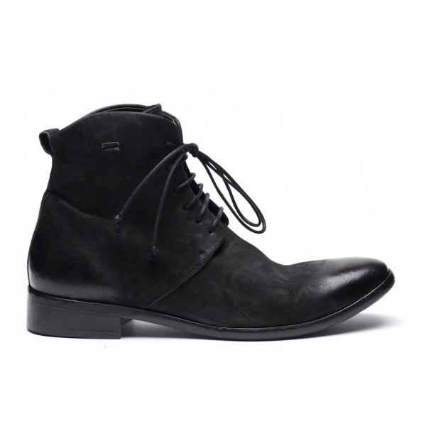 the last conspiracy COLTON mat Laced Boot 001 Black
