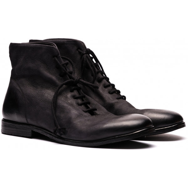 the last conspiracy CORTON mat Laced Boot 001 Black