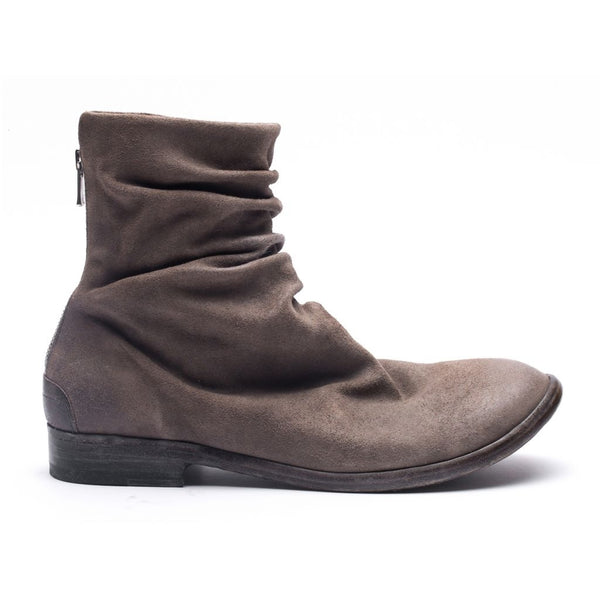 the last conspiracy DABI waxed suede Boot 052 Dark Grey