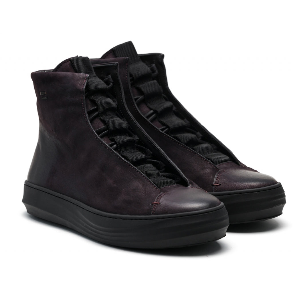 the last conspiracy ERNALDO mat High Top Sneaker 089 Fudge
