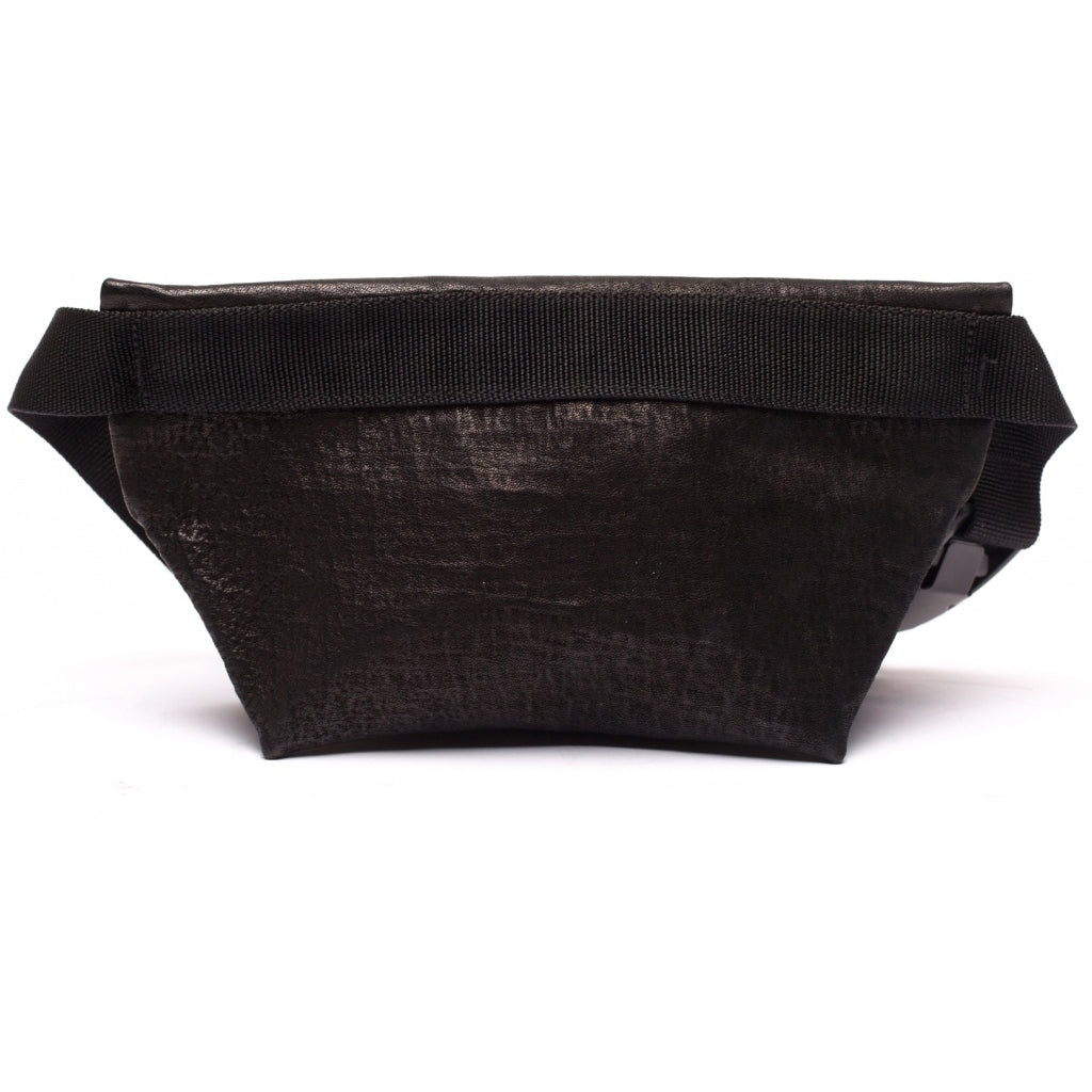 Accessories FANNY PACK SMALL waxed bonded Fanny pack 001 Black