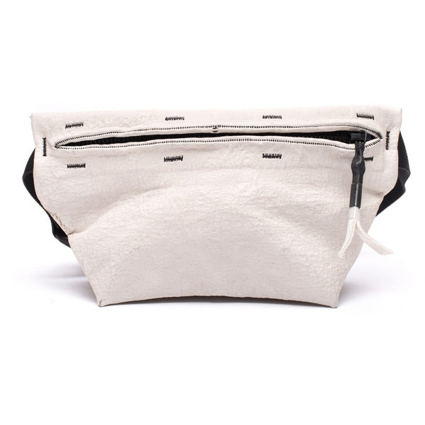 Accessories FANNY PACK SMALL waxed bonded Fanny pack 036 White