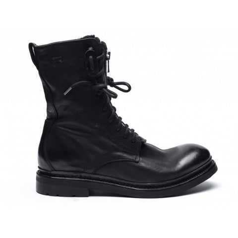 the last conspiracy FRANKIE re waxed Boot 001 Black
