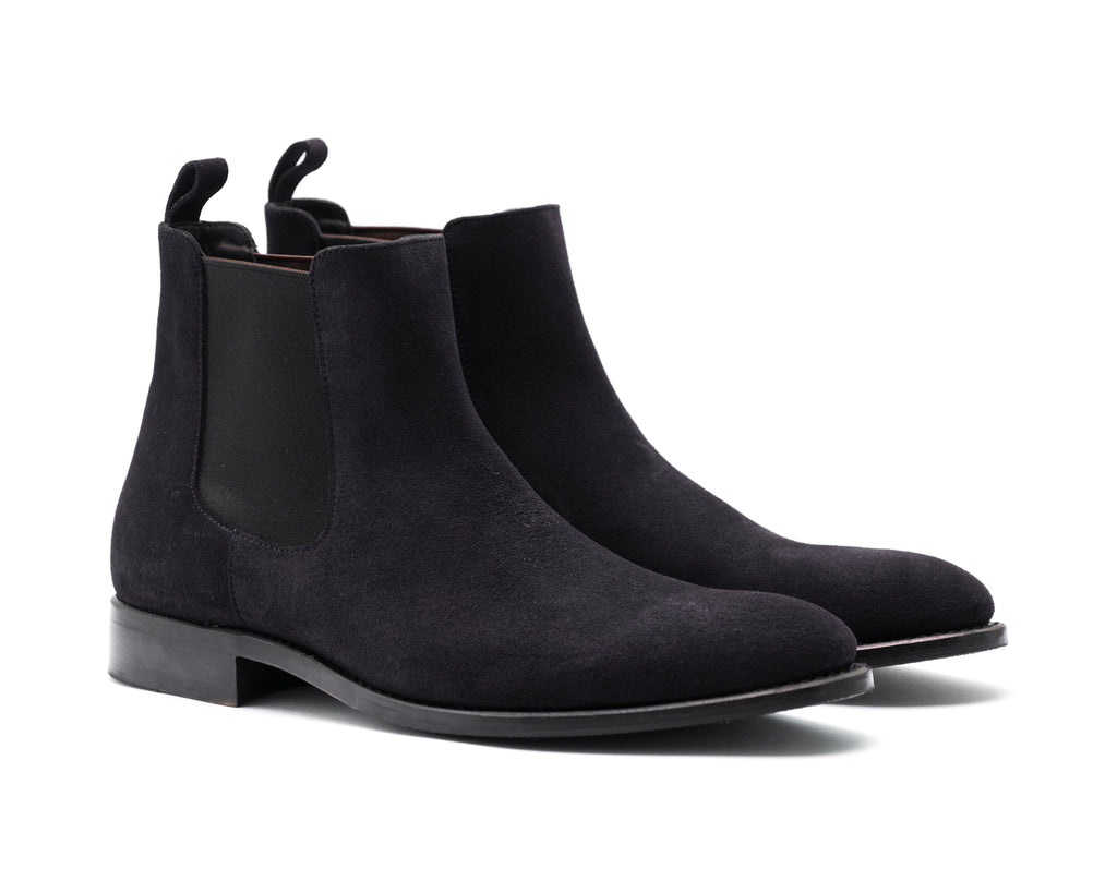 TLC Business GEKKO chelsea boot suede Business 008 Navy