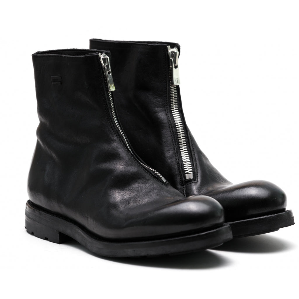 the last conspiracy GNA re waxed Boot 001 Black