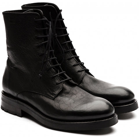 Asgaard GORMI re waxed Laced Boot 001 Black