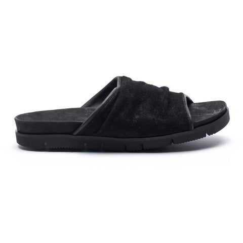 the last conspiracy GUSTAVO waxed suede vibram Sandal 001 Black