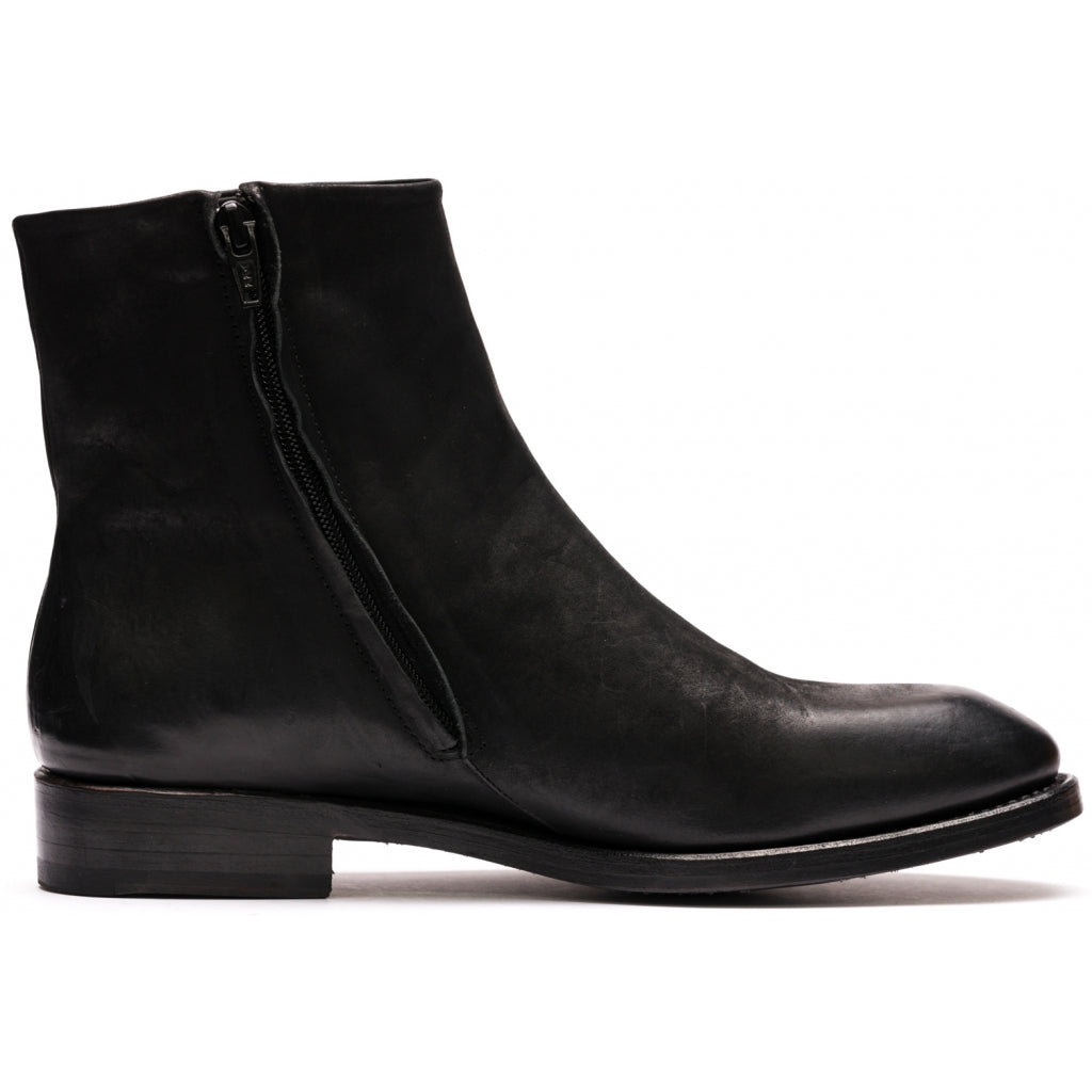 the last conspiracy HALLA mat Chelsea Boot 001 Black