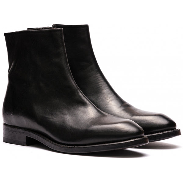 the last conspiracy HALLA soft Chelsea Boot 001 Black